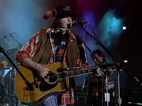 Neil Young - Harvest Moon (Live at Farm Aid 1992)