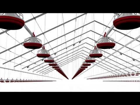 فيديو : تصميم ثلاثى الابعاد لمزرعة دواجن
