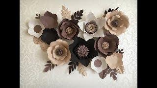 Цветы из бумаги. Шаблоны лепестков\ Templates for paper flowers