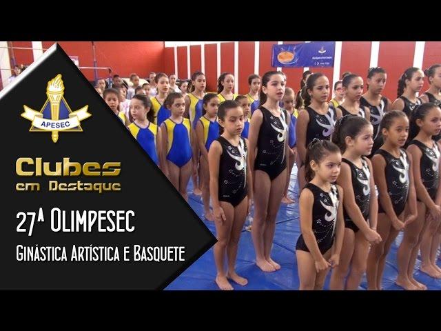Clubes em Destaque 15/09/2015 – 27ª Olimpesec