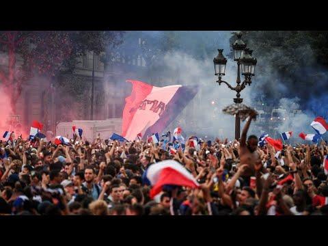 العرب اليوم - شاهد:احتفالات عارمة في شوارع باريس الأربعاء