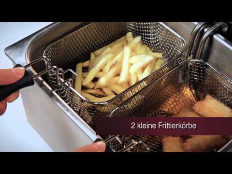 ProfiCook PC-FR 1038 Doppel-Fritteuse