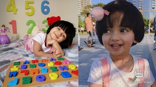 ABC Learn English Alphabet With Izza |Learn ABC With 2 year old Kid|ABC Letter Blocks for Kids