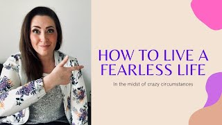 How to live a fearless life  |Rise Up Warsaw Ep  1|