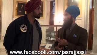 2013 in Toronto with Jagmeet singh who is now a candidate to