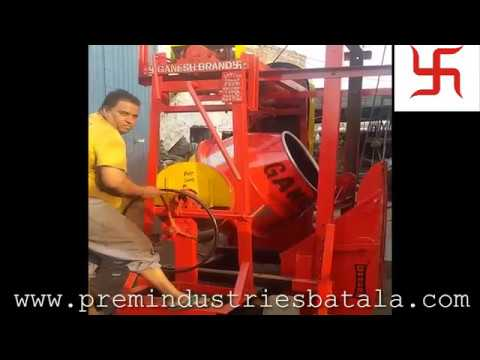 Lift Mixture Machine