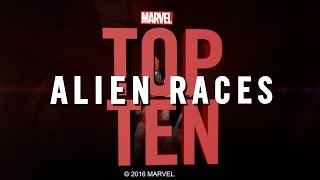 Marvel Top 10 Alien Races