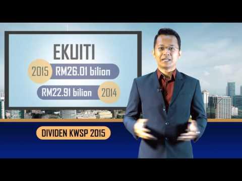 Terkini! Pengumuman Dividen KWSP 2015
