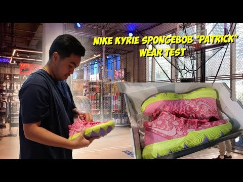 "Nike Kyrie 5 ""Spongebob"" Drop at Nike Park BGC + On Feet 