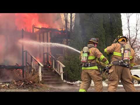 Bushkill Twp House Fire 3/12/18