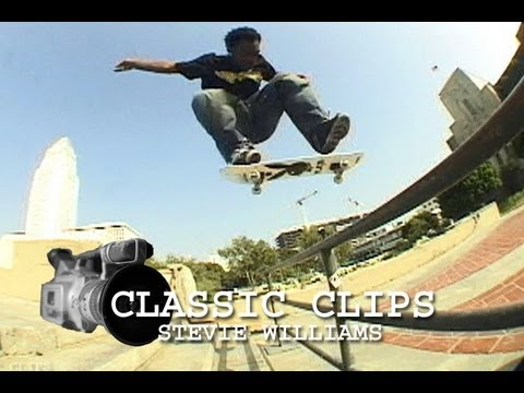 Stevie Williams Skateboarding Classic Clips #26 Philly