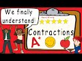 Contractions | Award Winning Contractions Teaching Video | What is a Contraction | Apostrophe