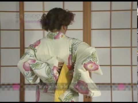 How To Dress Yukata & Kimono Part2 By ICHIROYA.com