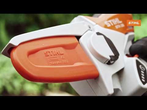 Аккумуляторная цепная мини-пила Stihl GTA 26 (GA010116900) Video #1
