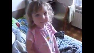 Приколы / Дети: Маленькая девочка уже знаменитость смешно разговаривает, акцент улёт- Дети наше Всё!