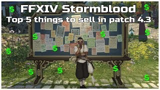 FFXIV Stormblood patch 4 3 HQ rotation for new crafting and