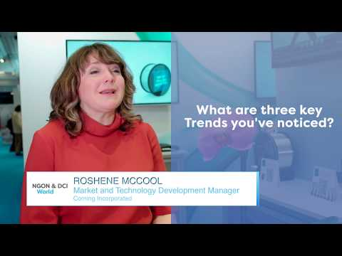 Interview with Roshene McCool   Marketing and Technology Development Manager at Corning
