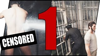 THEY GOT ME STRUNG OUT BUTT NAKED!! - A Way Out Walkthrough Pt.1