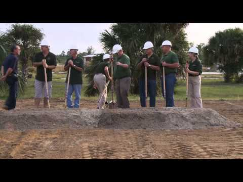 Grant-Valkaria Town Hall Groundbreaking