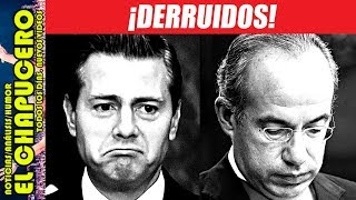 PEÑA Y CALDERÓN SE DESMORONAN EN VÍSPERAS QUE AMLO TOME EL PODER