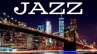 Smooth Night JAZZ - Exquisite Saxophone JAZZ &  Lights of Night City - Night Traffic JAZZ