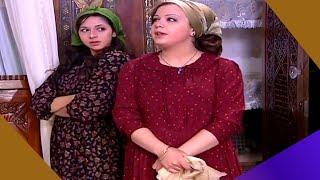 باب الحارة : حكايا جميلة و دلال - ام عصام عم تخانق بناتها لينظفوا غرفة عصام