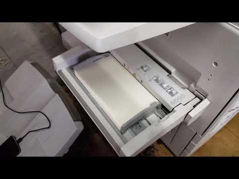 Instalar sistema por memoria USB en un Fiery de Mochila Docucolor