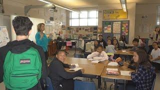BACK TO SCHOOL PRANK!! (SURPRISING FANS IN CLASS)   FaZe Rug