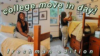 College Move In Day Vlog! (UNC Greensboro) | Laniya Smith