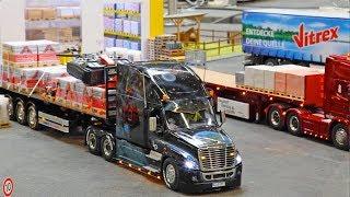 Toy Truck Videos MODEL FAIR RC Exhibit Modellbaumesse ERFURT 2018 RC TRUCKS & EXCAVATORS