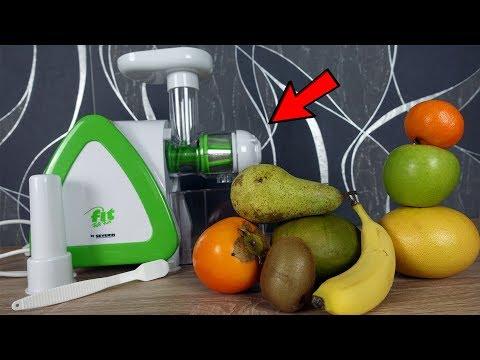 Was bekommst du, wenn du verschiedene Früchte auspresst und mischst? Super Multivitaminsaft!