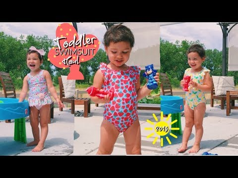 Toddler swimsuit haul | LOOKBOOK 2019