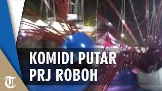 Wahana Permainan Komidi Putar di PRJ Roboh, Sejumlah Pengunjung Terluka