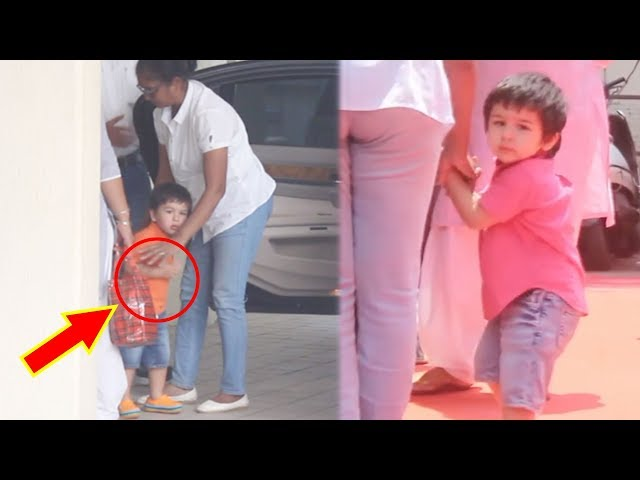 Taimur's Nanny's RUDE Behaviour With Him In PUBLIC Caught On Camera