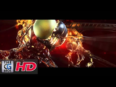 "CGI Animated Short Commercial : "" Blazing Dragonfly Vodka""by Transparent House"