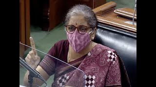 GST compensation: Opposition twisted Act of God remark, says FM Sitharaman - Download this Video in MP3, M4A, WEBM, MP4, 3GP