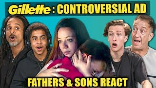 Fathers & Sons React To Controversial Gillette Commercial