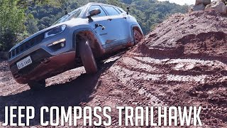 Jeep Compass Trailhawk - Teste no 4x4 - Jeep CAMP