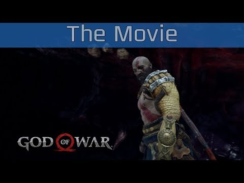 God of War (PS4) - All Cutscenes Gameplay The Movie Full Game [HD 1080P]