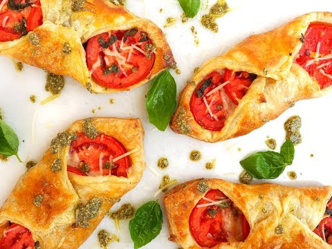 Appetizer Recipe: Caprese Puffs by Everyday Gourmet with Blakely