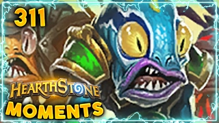 VERY Unfortunate Devolve.. | Hearthstone Gadgetzan Daily Moments Ep. 311 (Funny and Lucky Moments)