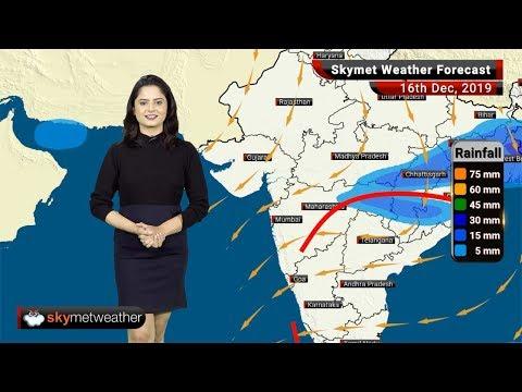 हवामान अंदाज 16 डिसेंबर: विदर्भात पावसाची शक्यता, धुकेमुळे दिल्लीत दृश्यता शून्य मीटर