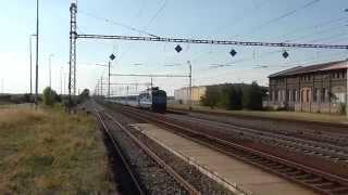 150.202-0 DKV Praha přepravuje 6. jednotku Railjet na reprofilaci kol