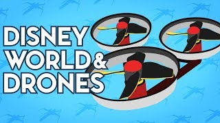 Disney World and Drones