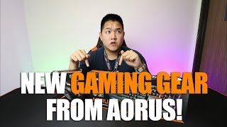 AORUS K7 Keyboard and M3 Mouse Overview