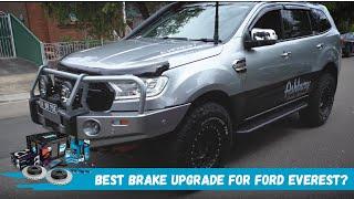Brake upgrades for the Ford Everest