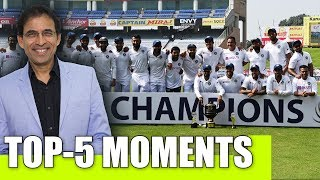 Harsha Bhogle: Top-5 moments from India's historic win