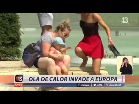 Ola de calor invade a Europa