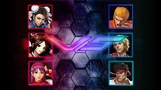 MUGEN Competition #13 - Chun-Li, Mai, Athena vs Ryo, Ken, Ryu