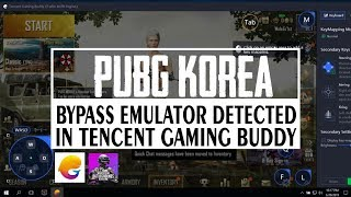 pubg mobile emulator detected bypass tencent gaming buddy permanent